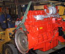 Expertise with engine shipment and packaging