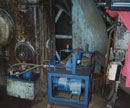 A Diak solution to restoring a 1957 rail tyre press to useful life after 10 years inactivity