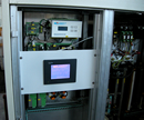Voltage Control cabinet in hydro station
